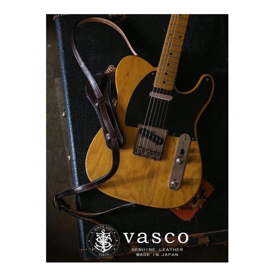 画像1: VASCO LEATHER STRAP GUITAR & BASS <予約>