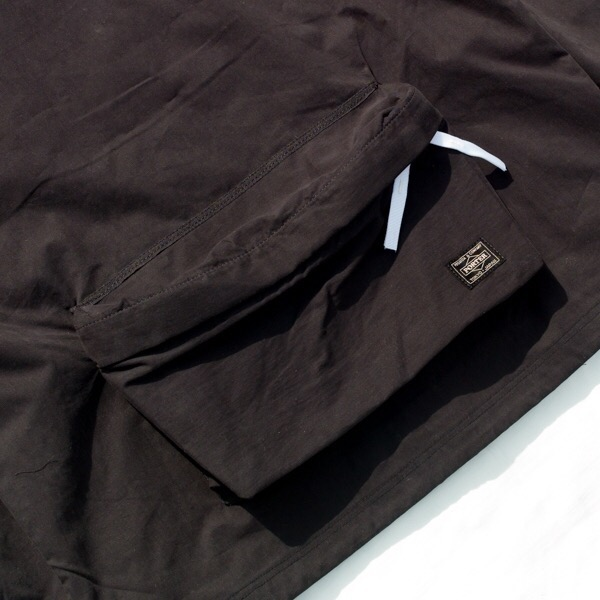 画像4:   RAVENIK×PORTER BACK POCKET CORCH JACKET black