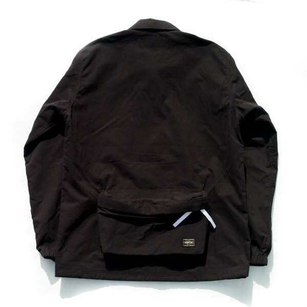 画像5:   RAVENIK×PORTER BACK POCKET CORCH JACKET black