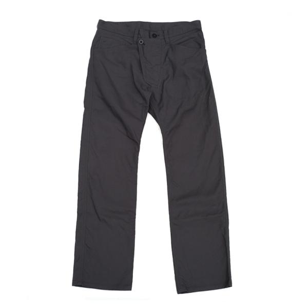 画像1: ts(s) Slant Fly Front Pants charcoal