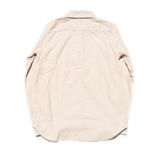 画像3: ts(s) Cotton Heather Soft Flannel B.D. Shirt Light Beige