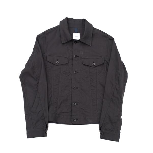 画像1: ts(s) Double Flap Pocket Short Jacket charcoal