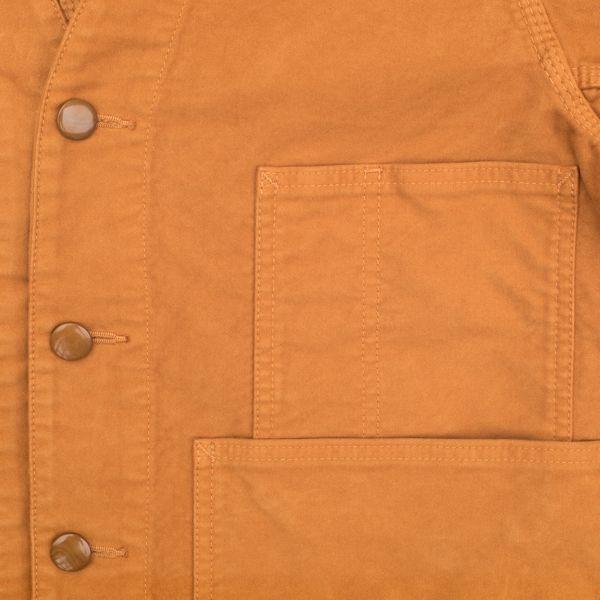 画像4: BRU NA BOINNE 5305 プーカ スエードジャケット オレンジ