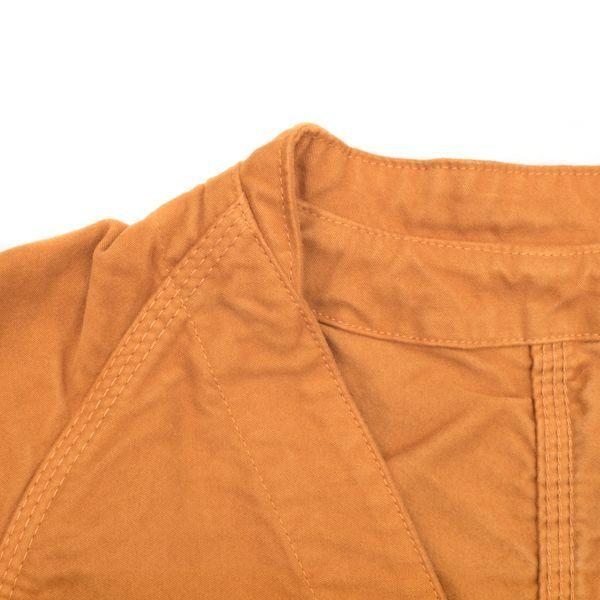 画像2: BRU NA BOINNE 5305 プーカ スエードジャケット オレンジ