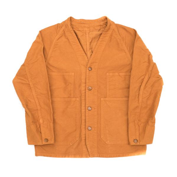 画像1: BRU NA BOINNE 5305 プーカ スエードジャケット オレンジ