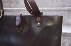 画像3: TRAVEL MINI TOTE BAG brown (3)