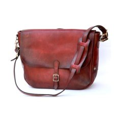 画像1: 5TH ANNIVERSARRY ITEAM POSTMAN LEATHER SHOULDER BAG   (1)