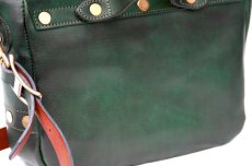 画像7: POSTMAN MINI LEATHER SHOULDER BAG  【GREEN】 (7)