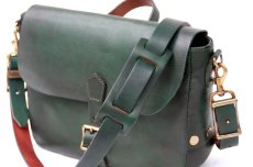 画像4: POSTMAN MINI LEATHER SHOULDER BAG  【GREEN】 (4)
