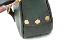 画像5: POSTMAN MINI LEATHER SHOULDER BAG  【GREEN】 (5)