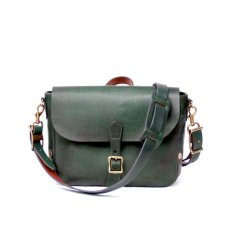 画像1: POSTMAN MINI LEATHER SHOULDER BAG  【GREEN】 (1)