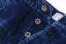 画像2: INDIGO CORDUROY PANTS 【DAMAGE&LIPAIR】 (2)