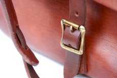 画像7: LETHER POSTMAN SHOLDER BAG camel (7)