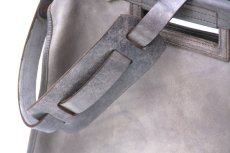 画像3: LEATHER CITY MAIL BAG【HOMEDICT silver gray】 (3)