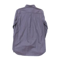 画像6: gingham shirts-navy ts(s) (6)