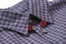 画像5: gingham shirts-navy ts(s) (5)