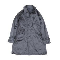 画像1: Fly Flont Raglan Sleeved Coat-navy (1)