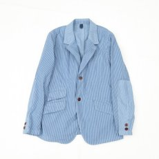画像1: 2 Button Jacket-blue (1)