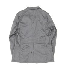 画像7: 3 BUTTON JACKET gray (7)