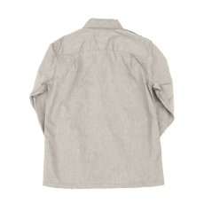 画像6: Chambray Army Shirts gray (6)