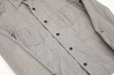 画像2: Chambray Army Shirts gray (2)