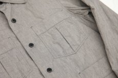 画像5: Chambray Army Shirts gray (5)