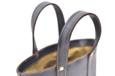 "画像4: LEATHER MINI DAY OFF BAG ""Gray"" (4)"