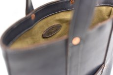 "画像8: LEATHER MINI DAY OFF BAG ""Gray"" (8)"