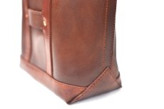 "画像5: LEATHER MINI DAY OFF BAG ""Brown"" (5)"