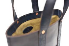 "画像7: LEATHER MINI DAY OFF BAG ""D.Navy"" (7)"
