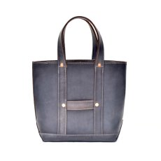 "画像1: LEATHER MINI DAY OFF BAG ""Gray"" (1)"