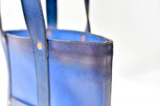 "画像10: LEATHER MINI DAY OFF BAG ""Blue"" (10)"