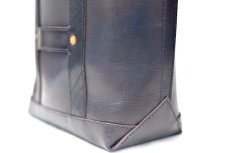 "画像5: LEATHER MINI DAY OFF BAG ""D.Navy"" (5)"