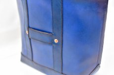 "画像9: LEATHER MINI DAY OFF BAG ""Blue"" (9)"