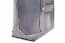 "画像6: LEATHER MINI DAY OFF BAG ""Gray"" (6)"