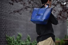 "画像15: LEATHER MINI DAY OFF BAG ""Blue"" (15)"