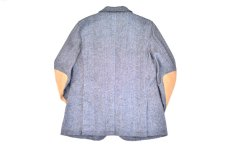 "画像2: Hemp Wool 2 Button Country House Jacket ""Blue Beige"" (2)"
