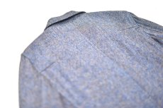 "画像4: Hemp Wool 2 Button Country House Jacket ""Blue Beige"" (4)"