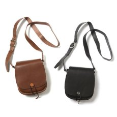 画像1: RSW LEATHER SHOULDER BAG PORTER MADE (1)