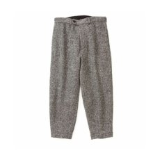 画像1: ts(s) Slant Fly Front Pants charcoal (1)