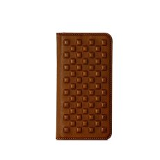 画像1: Demiurvo i-PHONE CASE 『PEBBLY』camel (1)