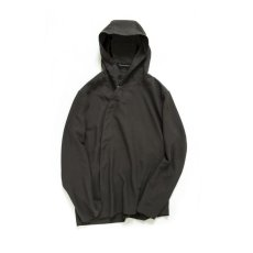 画像1: DEFORMED HOODED SHIRTS DARK BROWN (1)