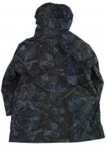 画像2: ts(s) Realtree Camo Cotton Ripstop Cloth 2 Line Zip Hooded Coat NAVY (2)