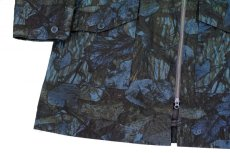 画像5: ts(s) Realtree Camo Cotton Ripstop Cloth 2 Line Zip Hooded Coat NAVY (5)