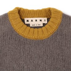 画像2: M A R N I 18AW CREW NECK KNIT GRAY (2)