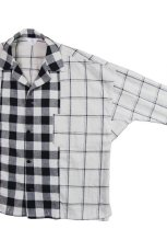 画像2: OPEN COLLER SHIRTS BLOCK CHECK (2)
