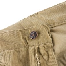 画像6: VINTAGE STRETCH CORDUROY PANTS BEIGE (6)