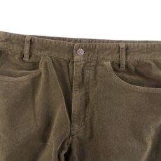 画像2: VINTAGE STRETCH CORDUROY PANTS BROWN (2)