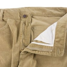 画像5: VINTAGE STRETCH CORDUROY PANTS BEIGE (5)