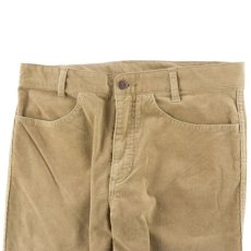 画像2: VINTAGE STRETCH CORDUROY PANTS BEIGE (2)